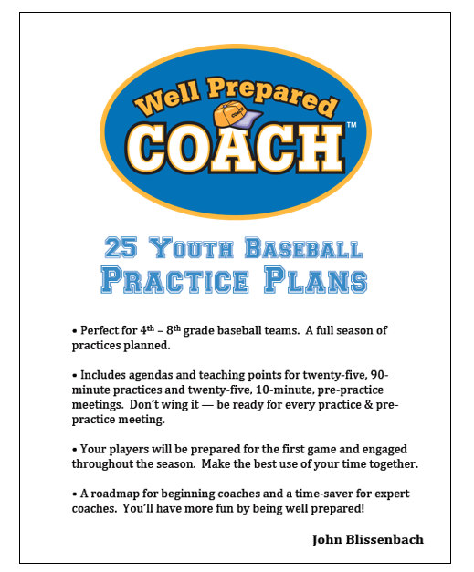 Youth Baseball Practice Plans