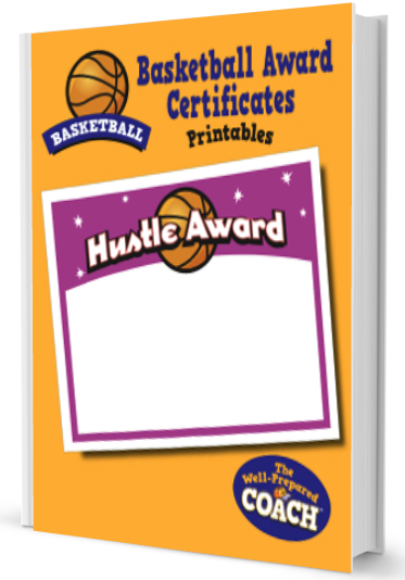 Basketball Award Certificates Templates