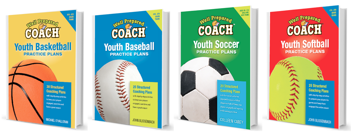 Practice Plans for Coaches - baseball, basketball, soccer and softball