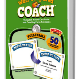 The Well-Prepared Coach – Volleyball Award Certificate and Coach Handout Printables