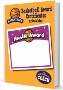 Basketball Award Certificates Templates
