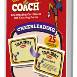 The Well-Prepared Coach — Cheerleading Award Certificate and Coach Handout Printables