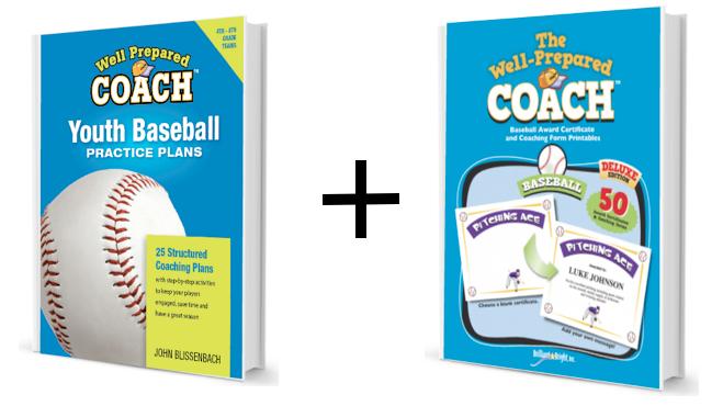 Baseball bundle: practice plans and awards image