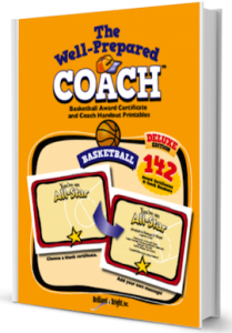 basketball award certifcate templates