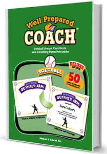 Softball certificate templates and coaching forms pronofoot35fo Choice Image
